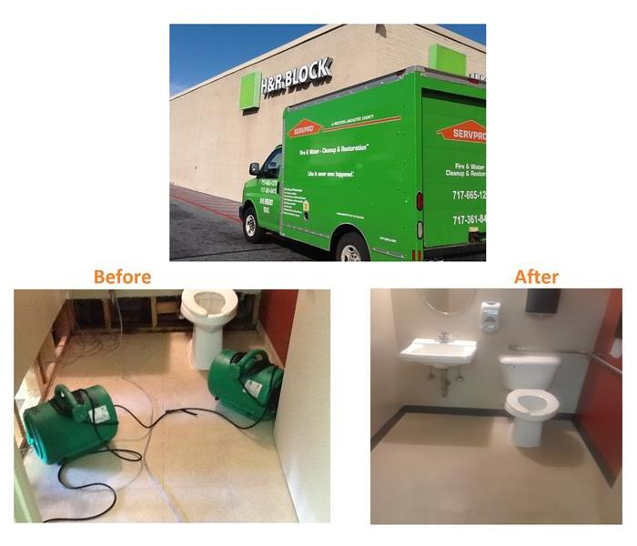 Commercial Water Mitigation & Rebuild